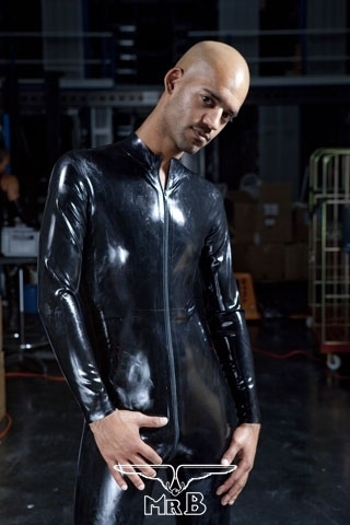 rubber full body suit with zip. Black Bedroom Furniture Sets. Home Design Ideas
