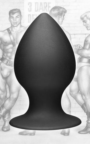 Tom of Finland Silicone Anal Plug - Extra Large