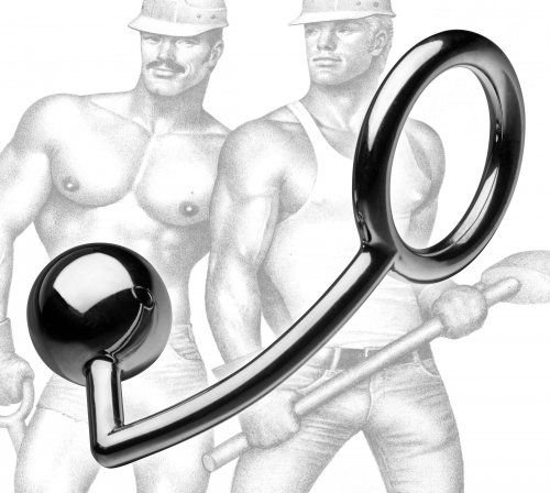 Tom of Finland Anal Ball Cock Ring 51 mm.