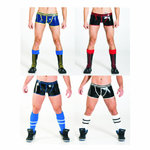 Mister B Rubber Vector Shorts