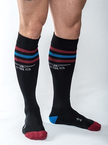 Mister B URBAN Gym Socks with Pocket Black