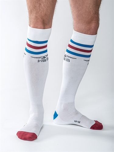 Mister B URBAN Gym Socks with Pocket White